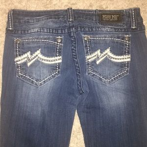 Straight miss me jeans!